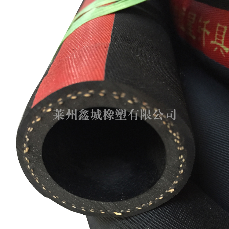 帘线缠绕胶管